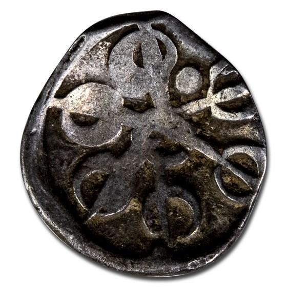 India Taxila AR 1/8th satamana (600 BC-303 BC) VF
