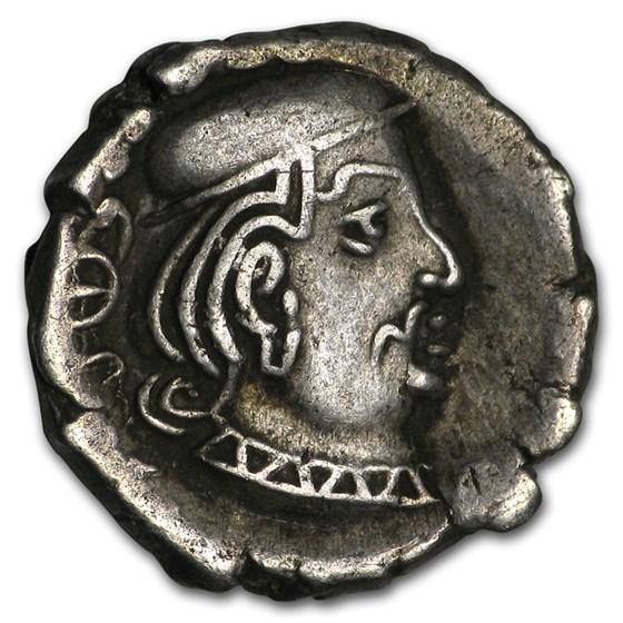 India Western Silver Drachm Satraps (238-415 AD) XF