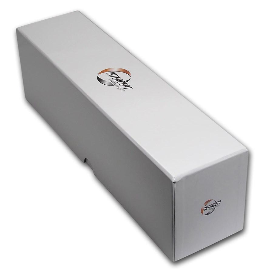Intercept Technology® Certified Coin Storage Box - 25 Slabs