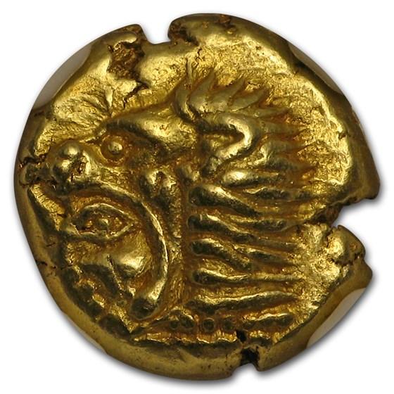 Ionia Erythrae EL Hecte Heracles Head (550-500 BC) Ch AU NGC