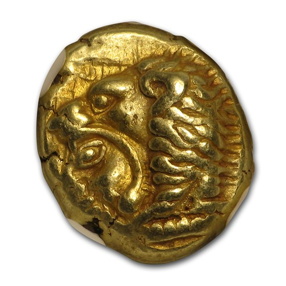 Ionia Erythrae Gold Hecte circa 550-500 BC Ch XF NGC