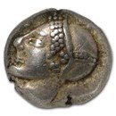 Ionia, Phocaea AR Diobol (5th-6th century BC) Ch XF NGC