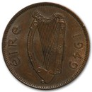 Ireland Large 1/2 Pennies Dated 1928-1967