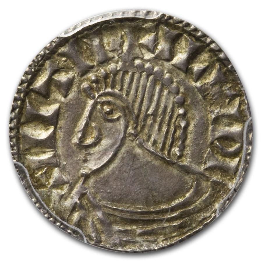 Irish-Viking Period AR Penny (circa 1035-1060 AD) MS-63 PCGS