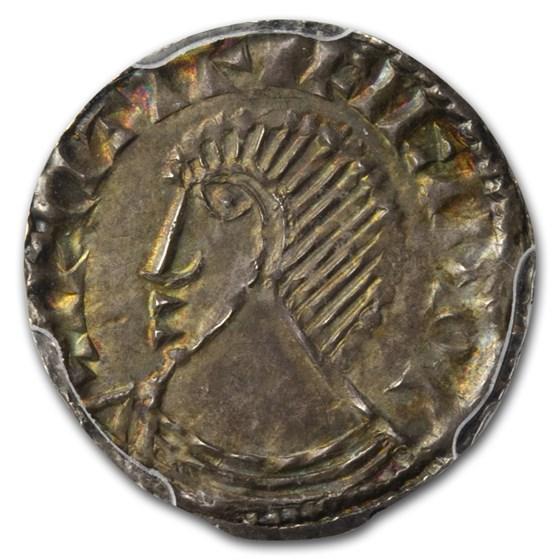 Irish-Viking Period AR Penny (circa 1035-1060 AD) MS-65 PCGS