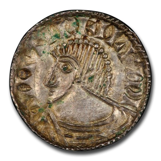 Irish-Viking Period AR Penny (circa 995-1150 AD) MS-64 PCGS