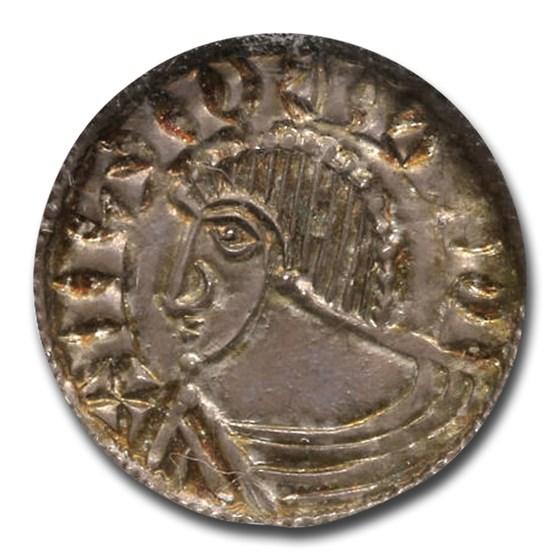 Irish-Viking Period AR Penny (circa 995-1150) MS-65 NGC