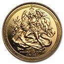 Isle of Man 1/10 oz Gold Angel BU/Proof (Random Years)