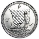 Isle of Man 1/10 oz Platinum Noble BU