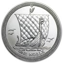 Isle of Man 1 oz Platinum Noble BU/Proof