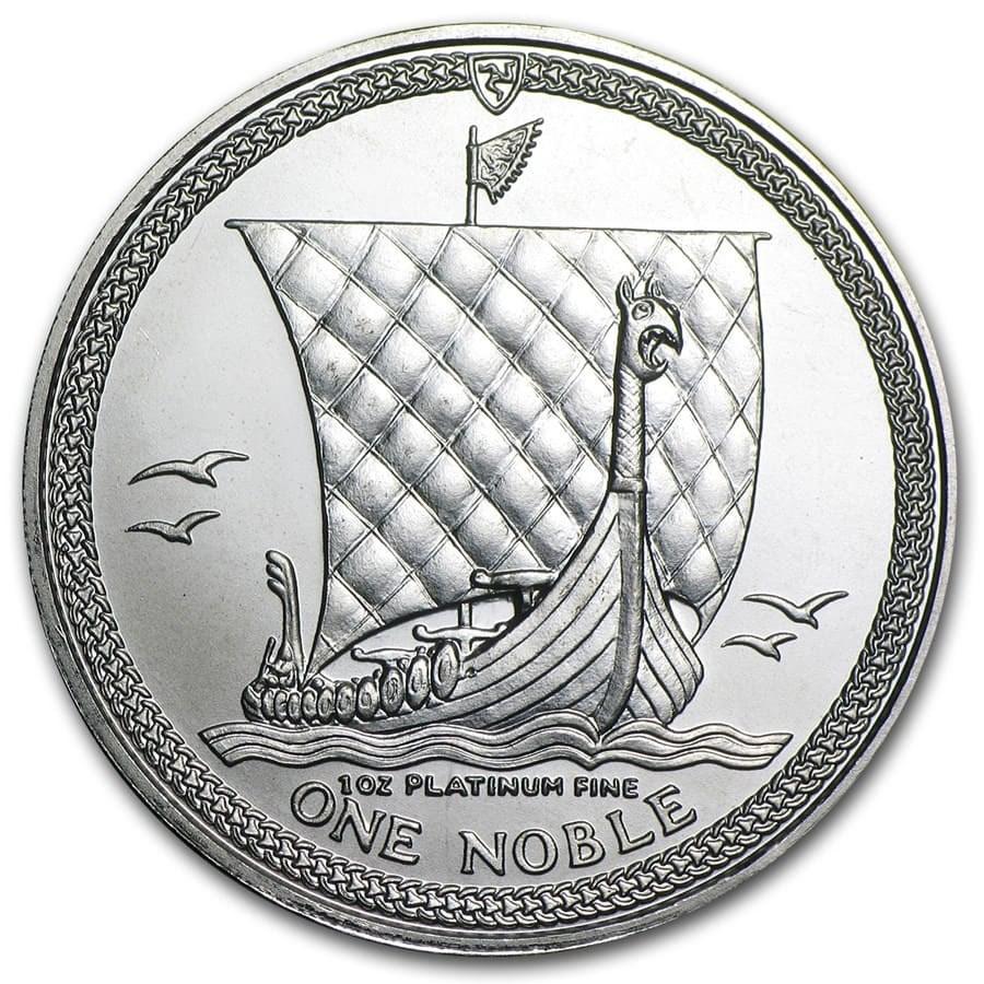 Isle of Man 1 oz Platinum Noble BU/Proof