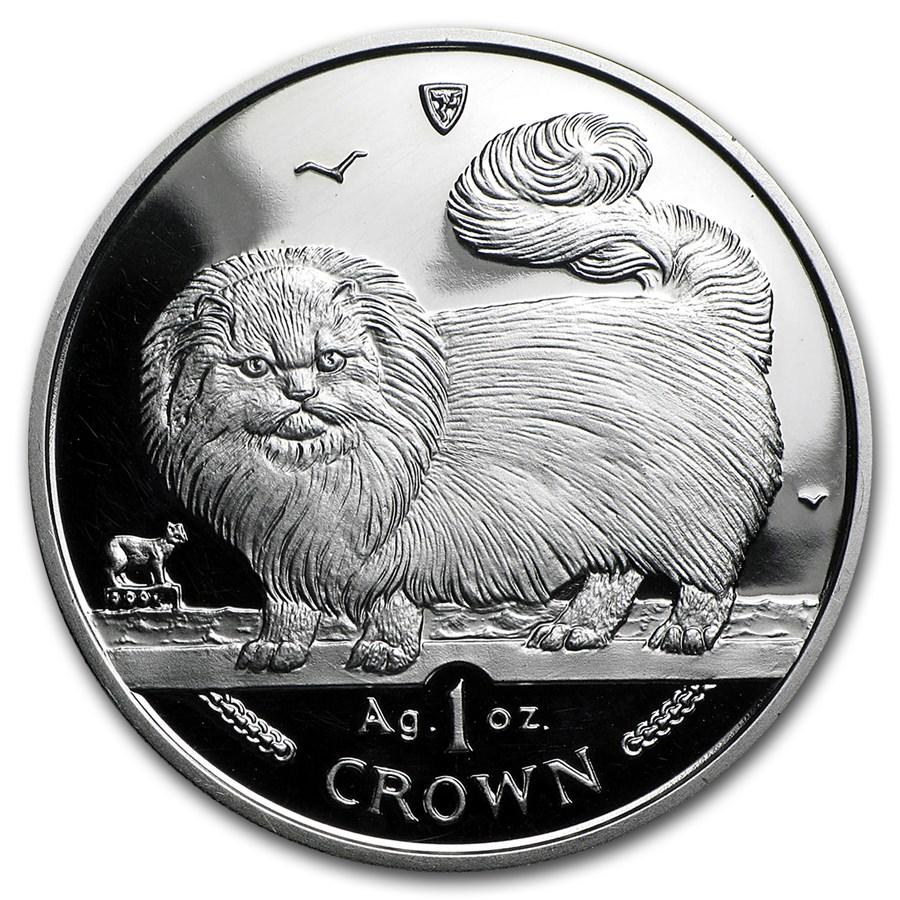 Isle of Man 1 oz Silver Cats Proof (Random Dates)