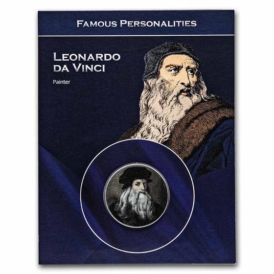 Italy Leonardo da Vinci 100 Lire Blistercard BU