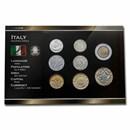 Italy Pre-Euro 8-Coin Set BU