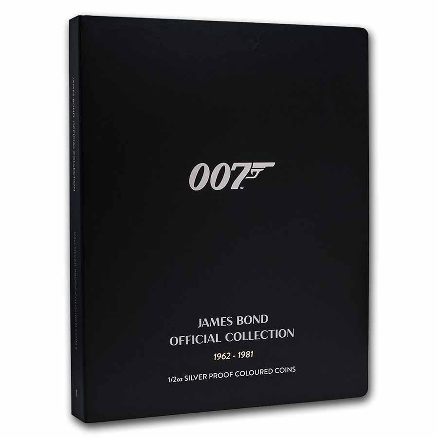 James Bond 007 1/2 oz Silver PF Coin Collector Album (Empty)