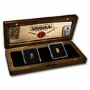 Japan Gold & Silver Money of the Samurai 2-Coin Presentation Set