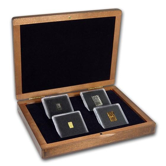 Japan Gold & Silver Money of the Samurai 4 Coin Presentation Set