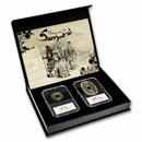 Japan Money of the Samurai 2 Coin + Banknote Presentation Set