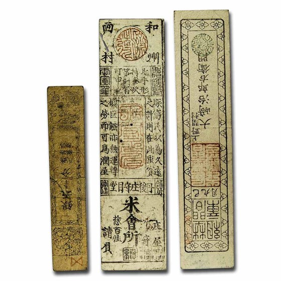 Japan Money of the Samurai 3 Banknote Presentation Set