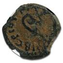 Judæa Procurators AE Prutah Pontius Pilate (26-36 AD) F NGC (T1)