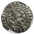 Kingdom of Armenia AR Tram Levon I (1198-1219 AD) XF NGC (Vault)