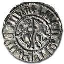 Kingdom of Armenia Silver Tram Levon I (1198-1219 AD) XF-AU