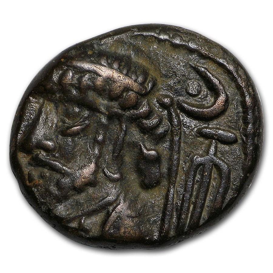 Kingdom of Elymais AE Drachm Kamans Kires VI (c.100 AD) XF