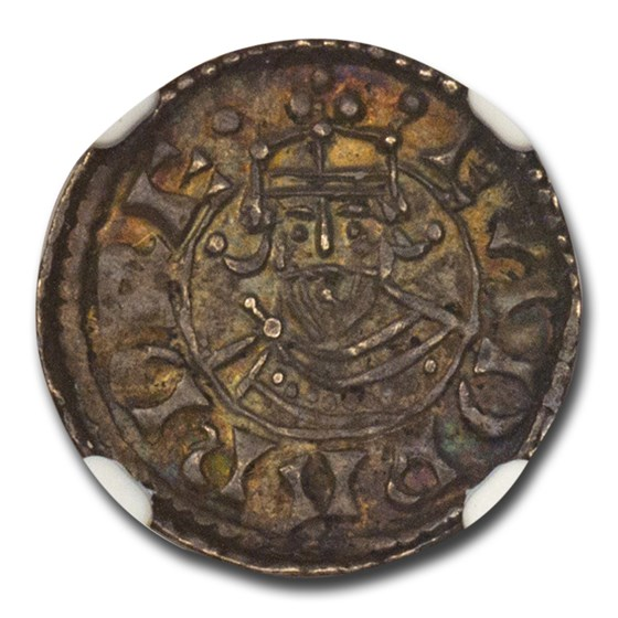 Kingdom of England Silver Penny Edward (1042-1066) MS-63 NGC