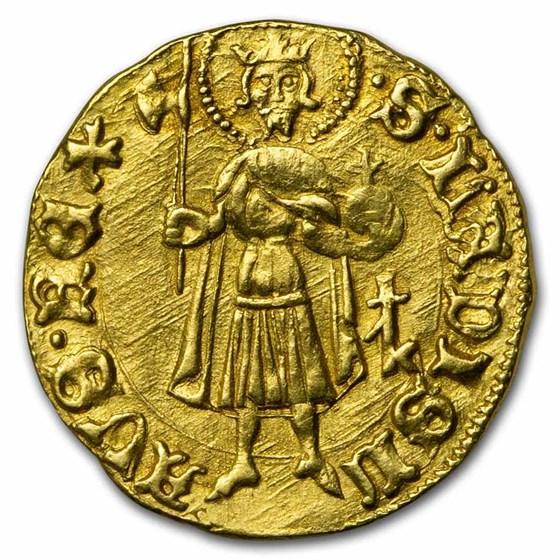 Kingdom of Hungary AV Forint Sigismund (1387-1437) BU