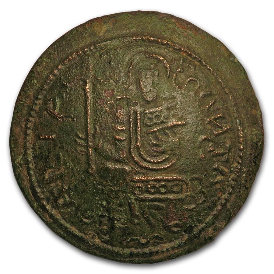Kingdom of Hungary Bronze Follis Bela III (1172-96 AD) VF