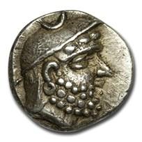 Kingdom of Persis AR Obol Darios I (200 BC) AU