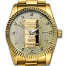Ladies 1 gram Gold Credit Suisse Watch