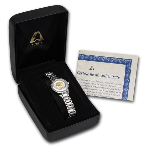 Buy Ladies Mercury Dime Watch - Silvertone | APMEX