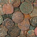 Large Bronze Follis of the Byzantine Empire (491 to 1453 AD)