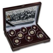 Legacy of Alexander the Great (336 BC-146 AD) Silver 8-Coin Set