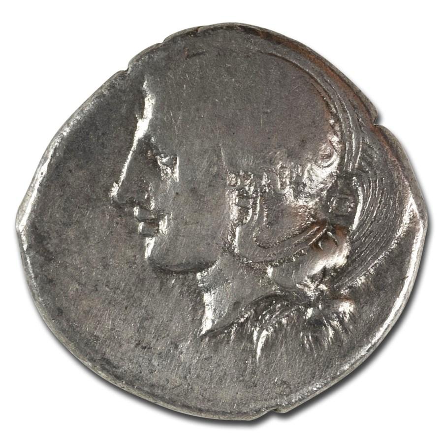 Lucania, Velia AR Didrachm (340-334 BC) Ch VF