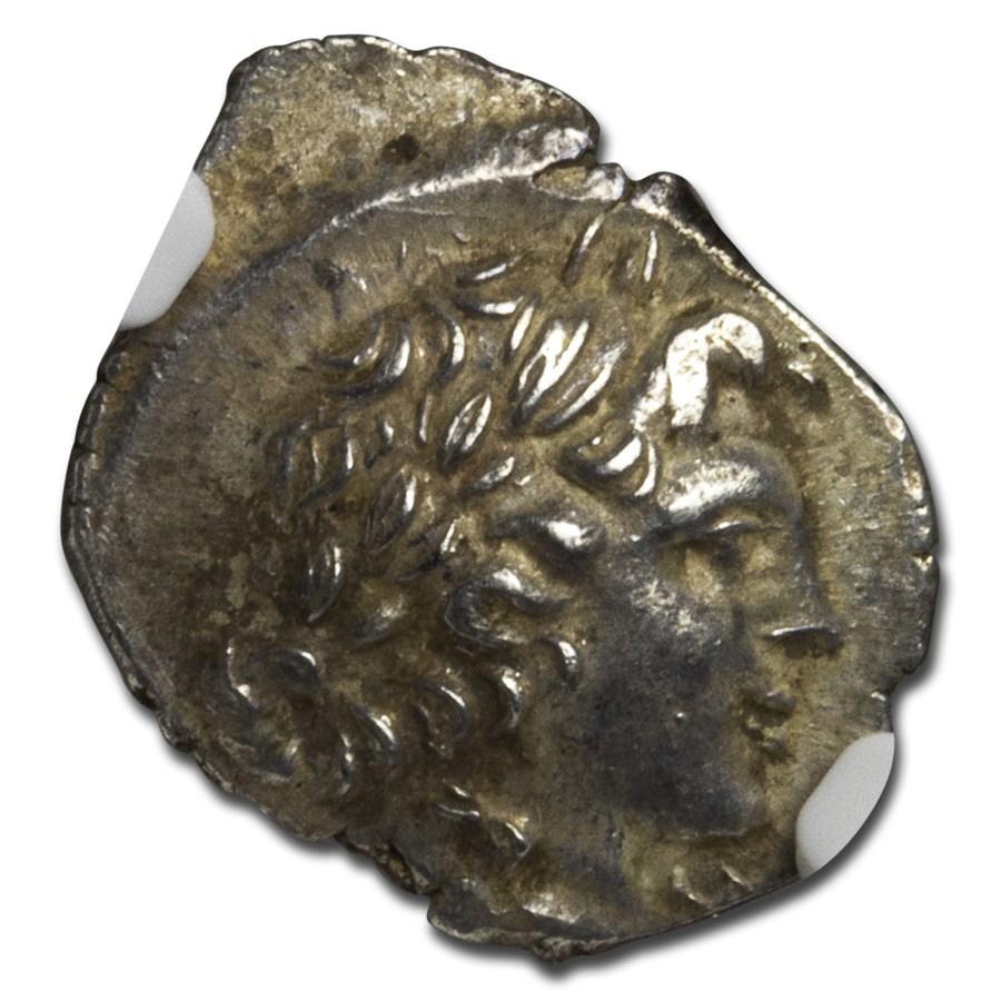 Lycian League Silver Hemidrachm (c. 48-20 BC) AU NGC