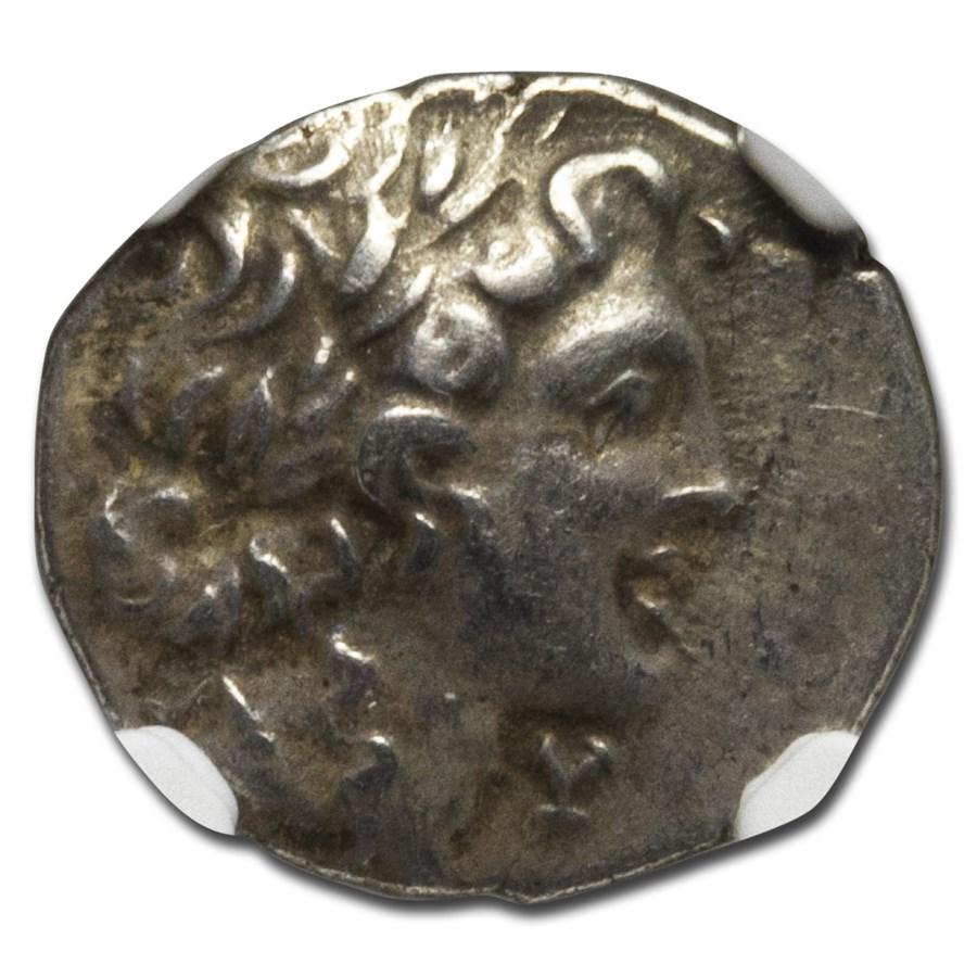 Lycian League Silver Hemidrachm (c. 48-20 BC) Ch XF NGC
