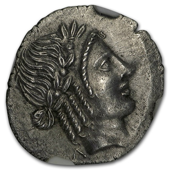 Lycian League Silver Hemidrachm (circa 48-20 BC) MS NGC