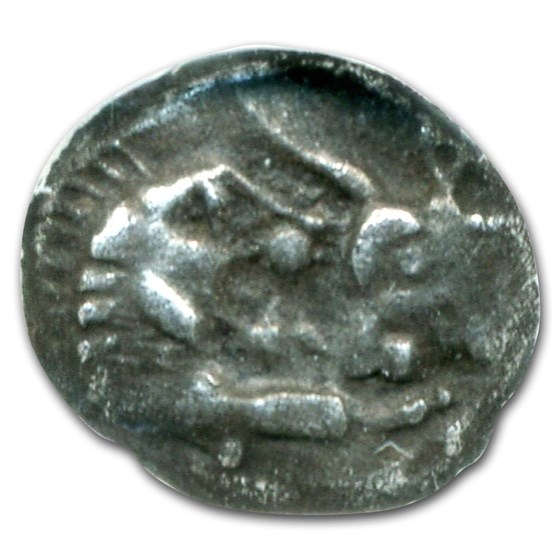 Lydian Silver Twelfth-Stater Croesus (561-546 BC) XF NGC
