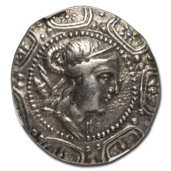 Macedon Under Rome Silver Tetradrachm (167-148 BC) Ch VF NGC