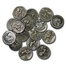 Macedonian Silver Drachm Alexander III (336-300 BC) VF-XF