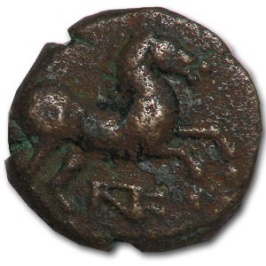 Maroneia Thrace AE 15 (400 to 350 BC)
