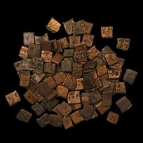 Mauryan Empire Bronze Karshapana (322-185 BC) Fine