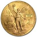 Mexico 1/2 oz Gold Onza &/or Libertad BU (Random Year)