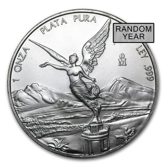 Mexico 1 oz Silver Libertad BU (Random Year)