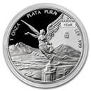 Mexico 1 oz Silver Libertad Proof (Random Year, In Capsule)