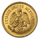 Mexico Gold 10 Pesos (Random Year) AU-BU
