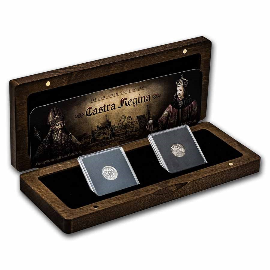 Middle Ages Silver Regensburg Collection: 2-Coin Presentation Set