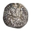 Milan Italian States Ag Pegione Barnabo Visconti (1349-1385) VF